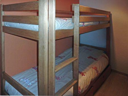 Location au ski Appartement 2 pièces 7 personnes (321) - Résidence le Silhourais - Les Orres - Lit mezzanine simple