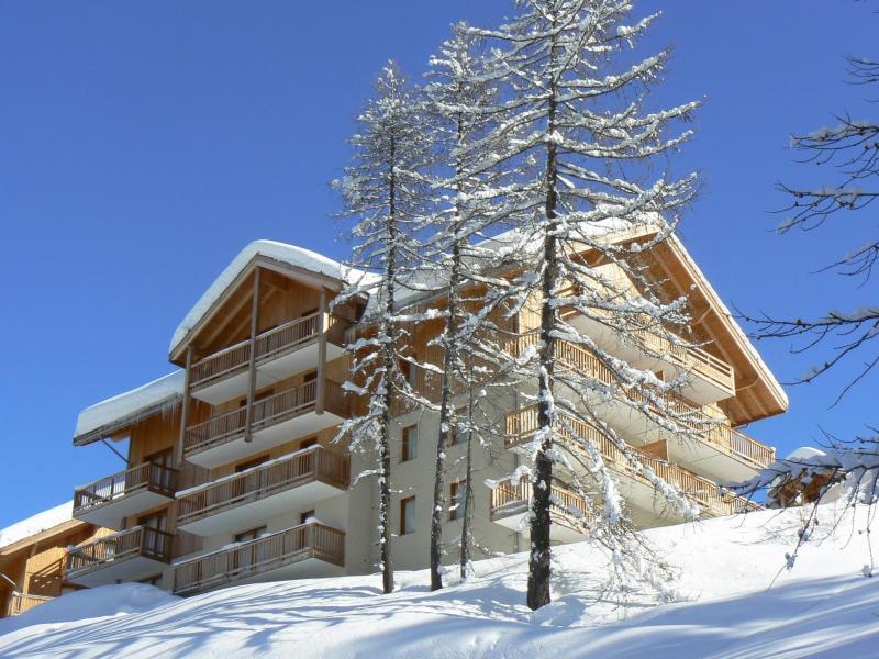 Location au ski Résidence les Balcons de Bois Méan - Les Orres - Extérieur hiver