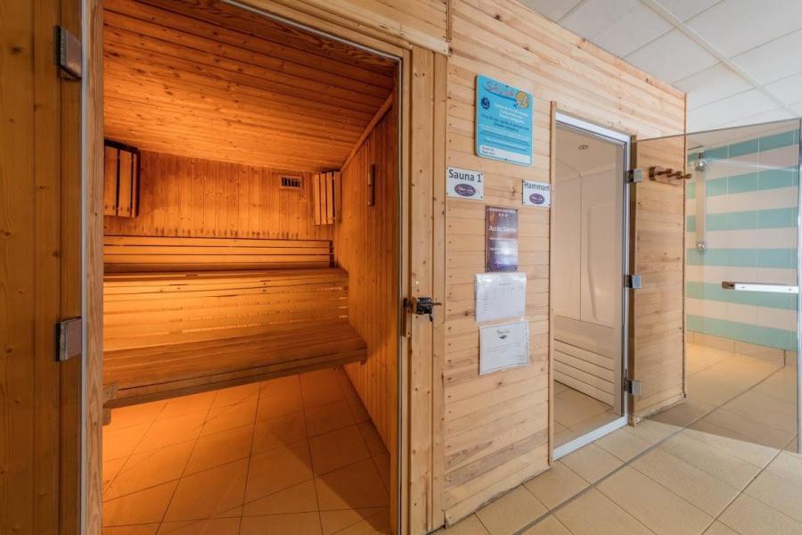 Location au ski Résidence les Balcons de Bois Méan - Les Orres - Sauna