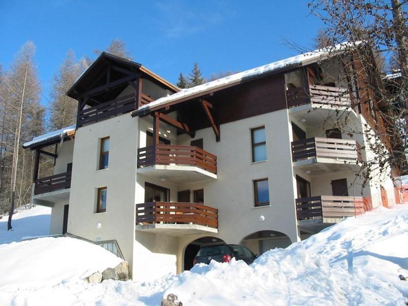 Wakacje w górach Apartament 2 pokojowy kabina 4 osób (6) - Résidence les Balcons de Pramouton - Les Orres - Zima na zewnątrz
