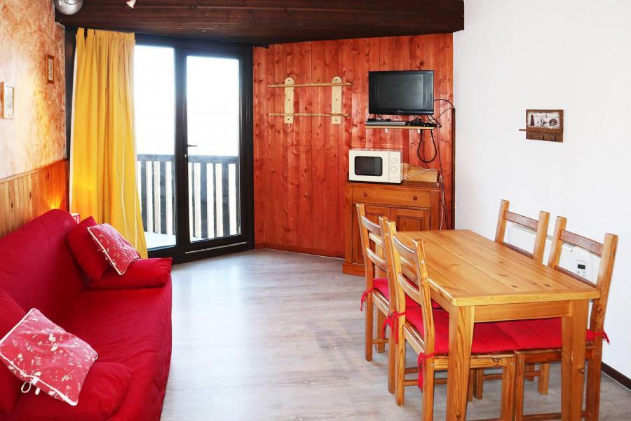 Location au ski Studio 4 personnes (018) - Résidence les Carlines - Les Orres - Séjour