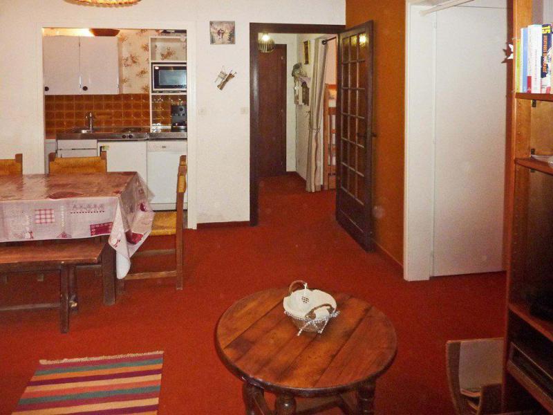 Location au ski Appartement 2 pièces coin montagne 6 personnes (063) - Résidence les Cembros - Les Orres - Table basse