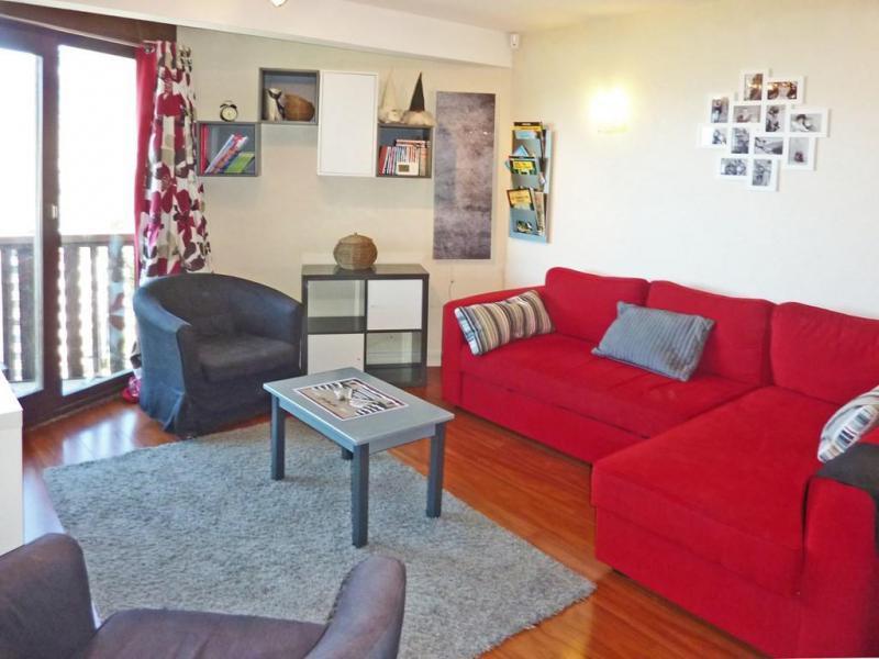 Location au ski Appartement duplex 3 pièces 8 personnes (060) - Résidence les Cembros - Les Orres - Canapé-gigogne