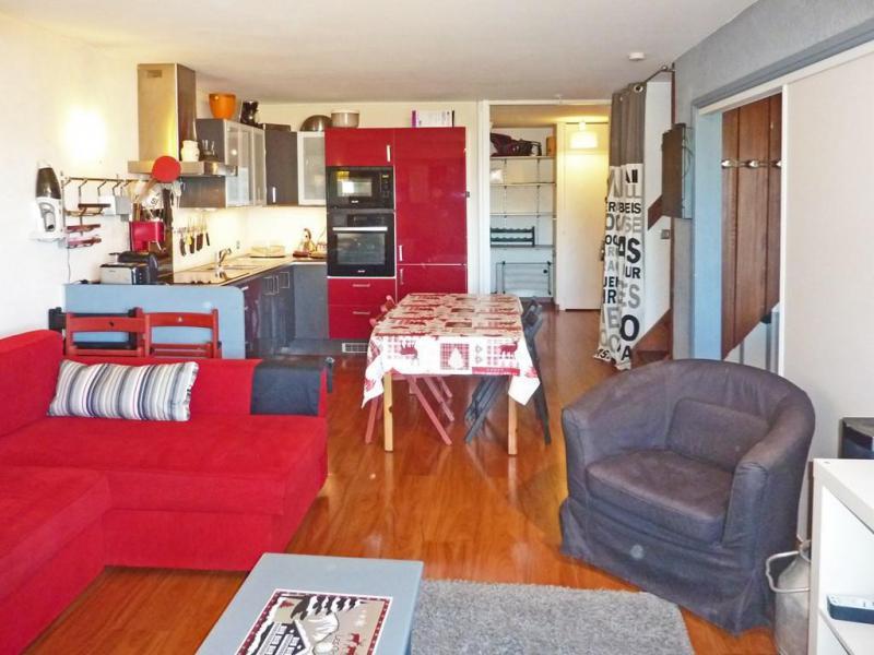 Location au ski Appartement duplex 3 pièces 8 personnes (060) - Résidence les Cembros - Les Orres - Kitchenette