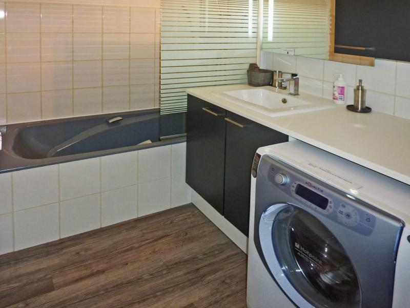 Location au ski Appartement duplex 3 pièces 8 personnes (060) - Résidence les Cembros - Les Orres - Lave-linge