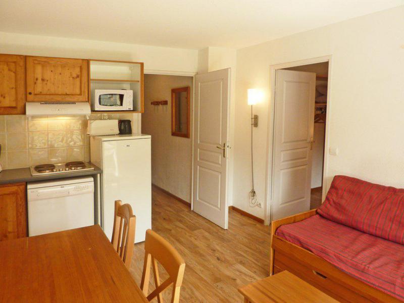 Location au ski Appartement 2 pièces 4 personnes (809) - Résidence les Chalets de Bois Méan - Les Orres - Canapé-gigogne