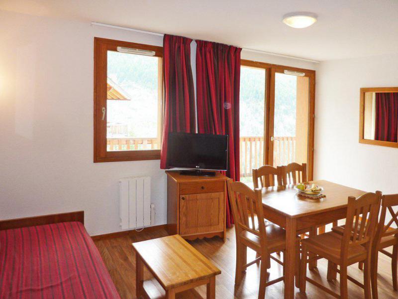 Location au ski Appartement 2 pièces coin montagne 6 personnes (804) - Résidence les Chalets de Bois Méan - Les Orres - Séjour