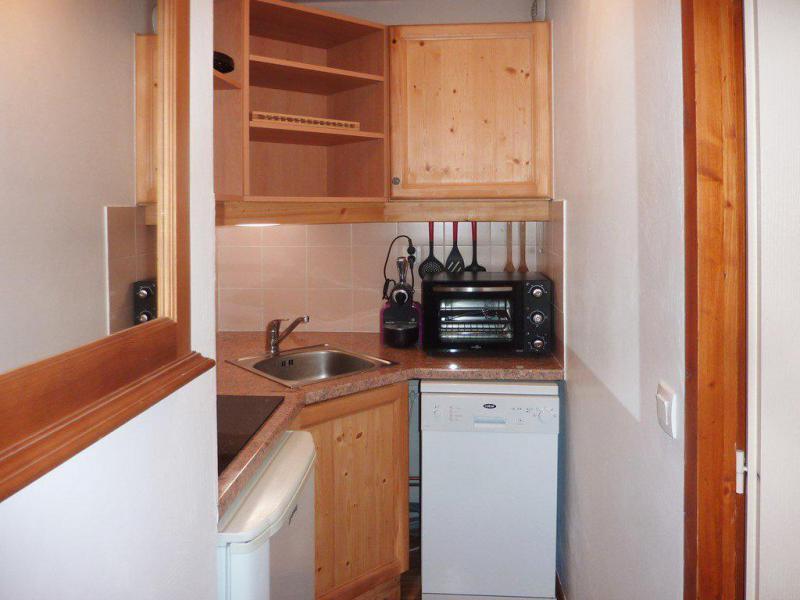 Location au ski Appartement 2 pièces 6 personnes (810) - Résidence les Eglantines - Les Orres - Kitchenette