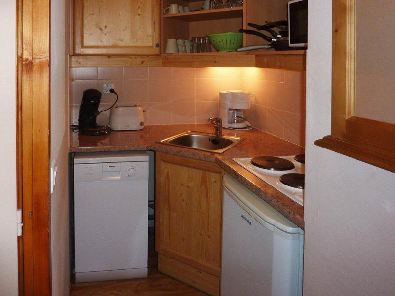 Location au ski Appartement 2 pièces 6 personnes (812) - Résidence les Eglantines - Les Orres - Kitchenette