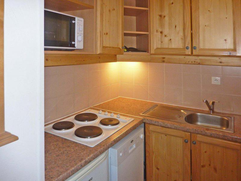 Location au ski Appartement 2 pièces 6 personnes (813) - Résidence les Eglantines - Les Orres - Kitchenette