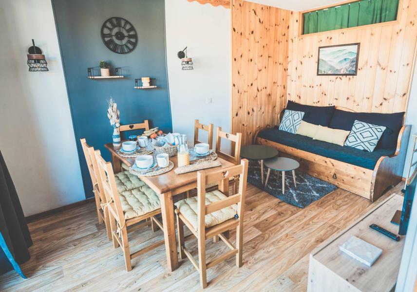 Location au ski Appartement 2 pièces coin montagne 6 personnes (811) - Résidence les Eglantines - Les Orres - Table