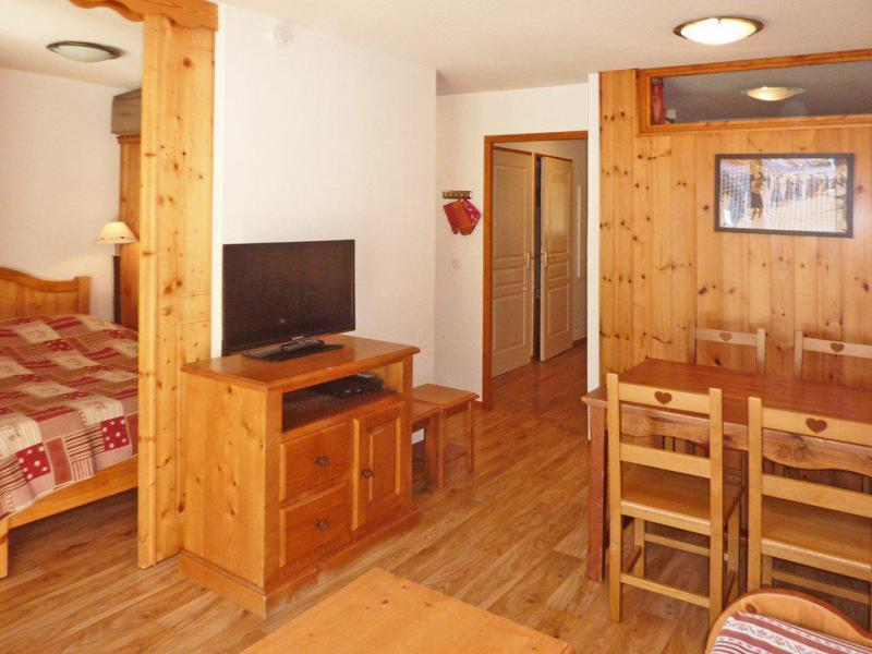 Location au ski Appartement 2 pièces coin montagne 6 personnes (814) - Résidence les Eglantines - Les Orres - Tv