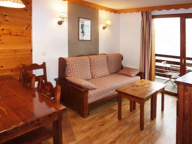 Location au ski Appartement 2 pièces 6 personnes (491) - Résidence les Erines - Mélèzes d'Or - Les Orres - Séjour