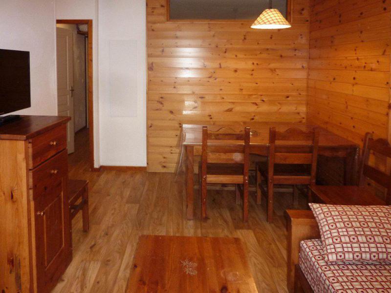 Location au ski Appartement 2 pièces 6 personnes (491) - Résidence les Erines - Mélèzes d'Or - Les Orres - Table