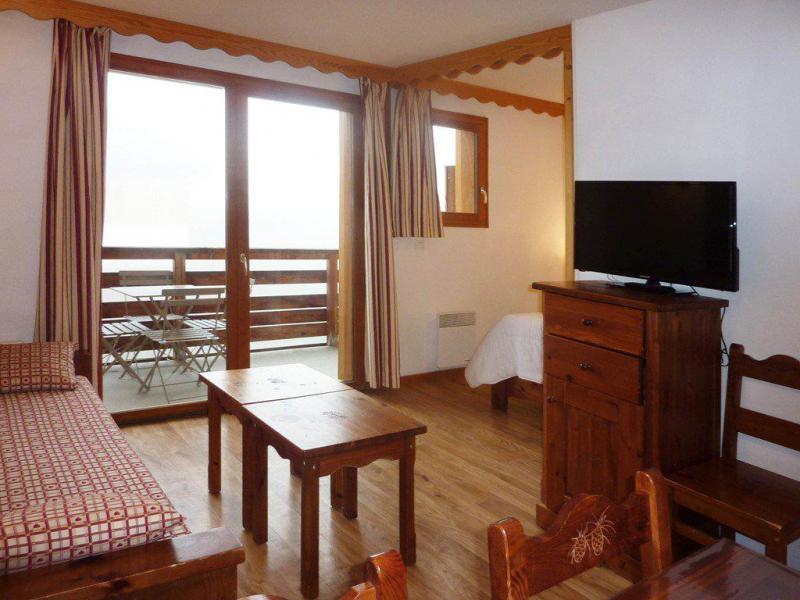 Location au ski Appartement 2 pièces 6 personnes (491) - Résidence les Erines - Mélèzes d'Or - Les Orres - Table basse