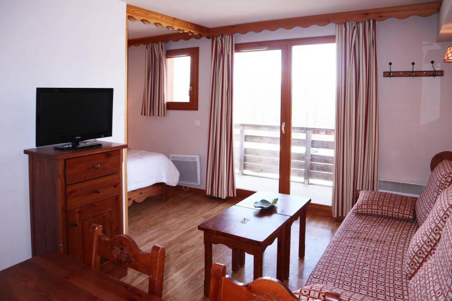 Location au ski Appartement 2 pièces cabine 6 personnes (487) - Résidence les Erines - Mélèzes d'Or - Les Orres - Kitchenette