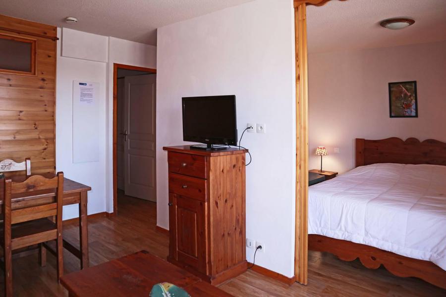 Location au ski Appartement 2 pièces cabine 6 personnes (487) - Résidence les Erines - Mélèzes d'Or - Les Orres - Lit simple