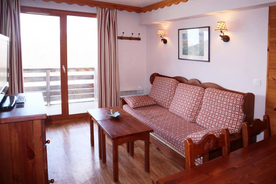 Location au ski Appartement 2 pièces cabine 6 personnes (487) - Résidence les Erines - Mélèzes d'Or - Les Orres - Table