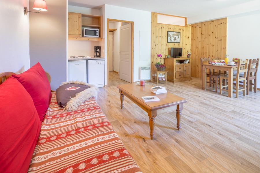 Location au ski Résidence les Hauts de Préclaux - Les Orres - Canapé-lit