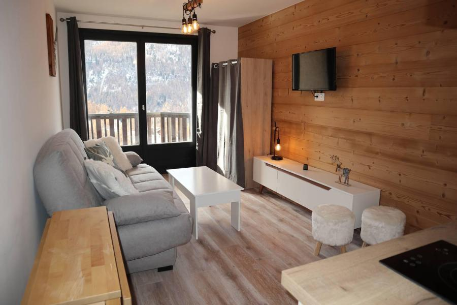 Location au ski Studio 2 personnes (144) - Résidence les Orrianes des Neiges - Les Orres - Kitchenette