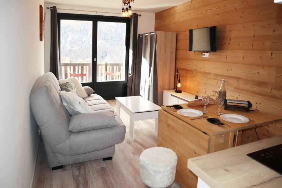 Location au ski Studio 2 personnes (144) - Résidence les Orrianes des Neiges - Les Orres - Séjour