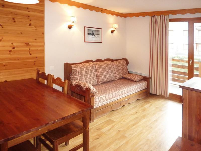 Location au ski Appartement 2 pièces 6 personnes (492) - Résidence les Silènes - Mélèzes d'Or - Les Orres - Banquette-lit