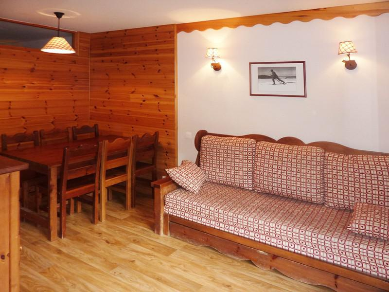 Location au ski Appartement 2 pièces 6 personnes (492) - Résidence les Silènes - Mélèzes d'Or - Les Orres - Canapé-lit