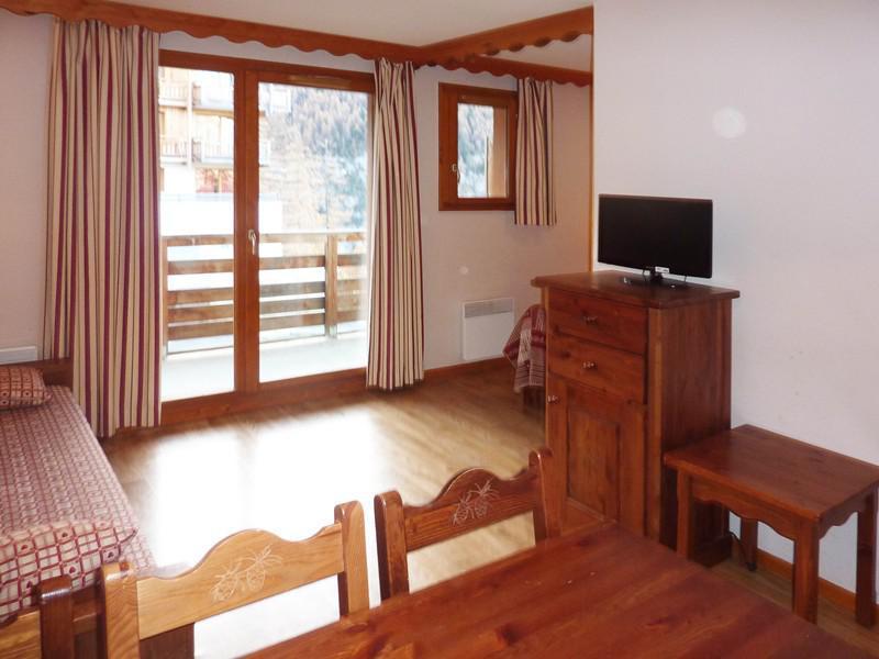 Location au ski Appartement 2 pièces 6 personnes (492) - Résidence les Silènes - Mélèzes d'Or - Les Orres - Séjour