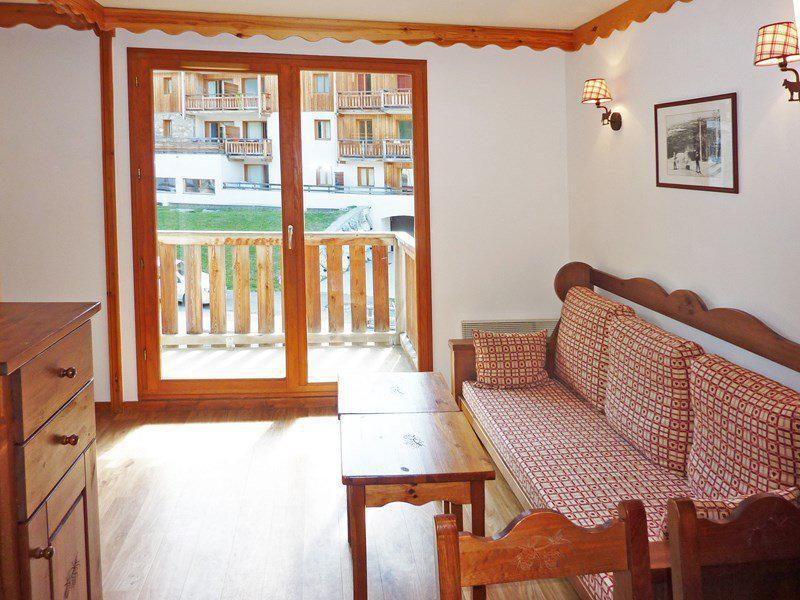 Location au ski Appartement 2 pièces coin montagne 6 personnes (476) - Résidence les Silènes - Mélèzes d'Or - Les Orres - Canapé