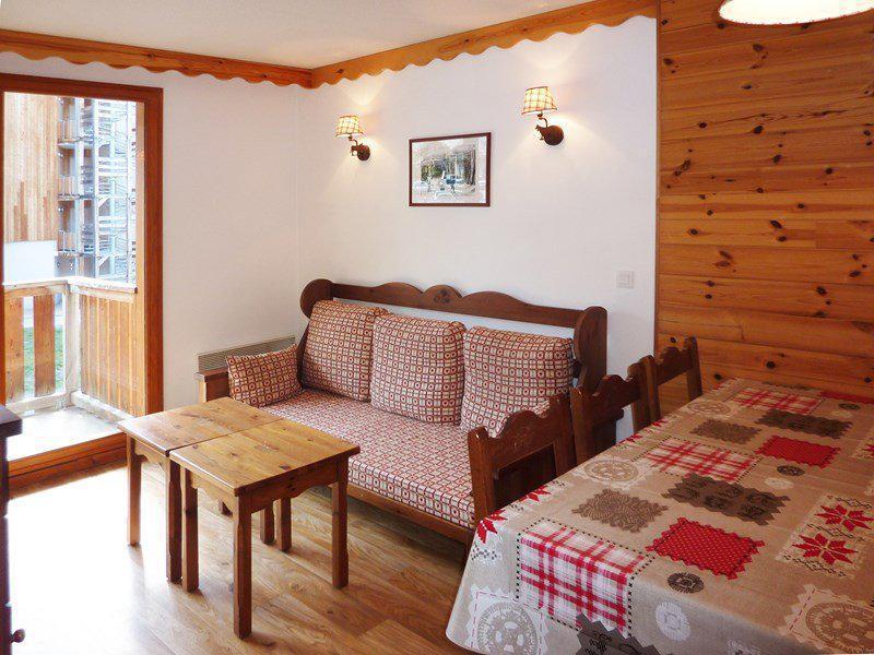 Location au ski Appartement 2 pièces coin montagne 6 personnes (476) - Résidence les Silènes - Mélèzes d'Or - Les Orres - Séjour