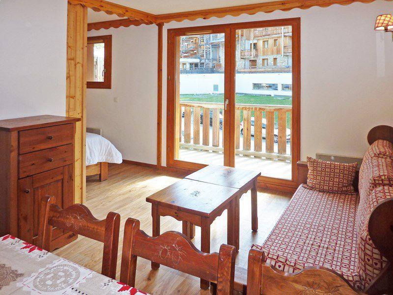 Location au ski Appartement 2 pièces coin montagne 6 personnes (476) - Résidence les Silènes - Mélèzes d'Or - Les Orres - Table basse