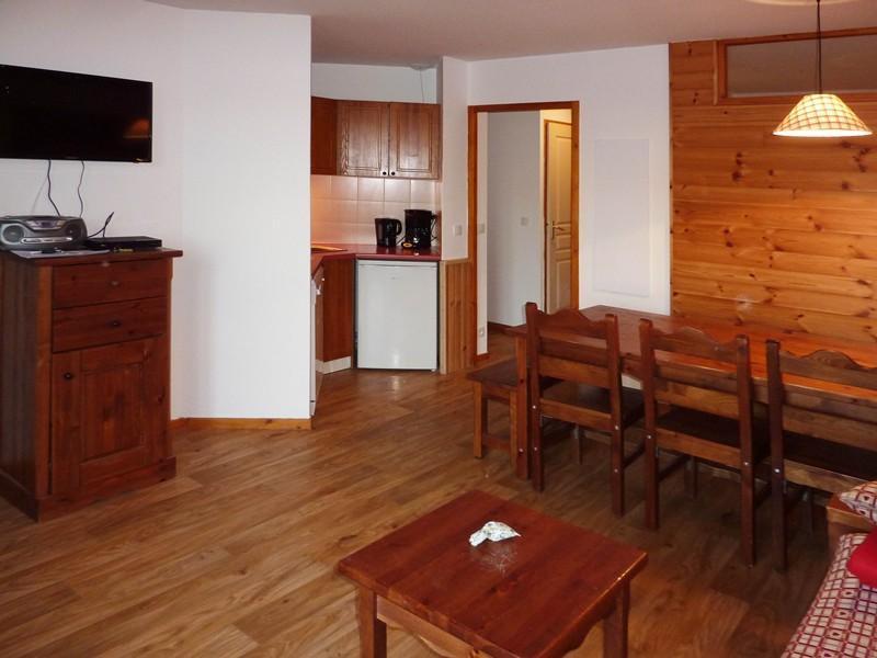 Location au ski Appartement 2 pièces coin montagne 8 personnes (497) - Résidence les Silènes - Mélèzes d'Or - Les Orres - Coin repas