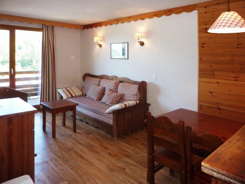 Location au ski Appartement duplex 3 pièces 8 personnes (490) - Résidence les Silènes - Mélèzes d'Or - Les Orres - Canapé-lit