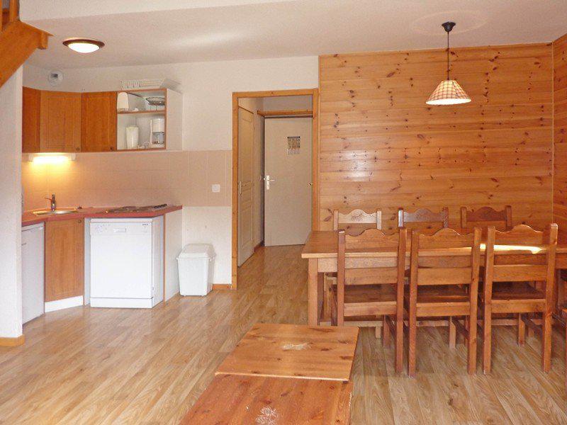 Location au ski Appartement duplex 3 pièces 9 personnes (496) - Résidence les Silènes - Mélèzes d'Or - Les Orres - Coin repas