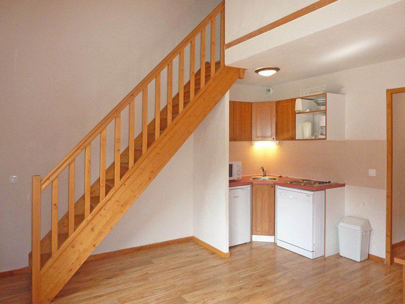 Location au ski Appartement duplex 3 pièces 9 personnes (496) - Résidence les Silènes - Mélèzes d'Or - Les Orres - Escalier