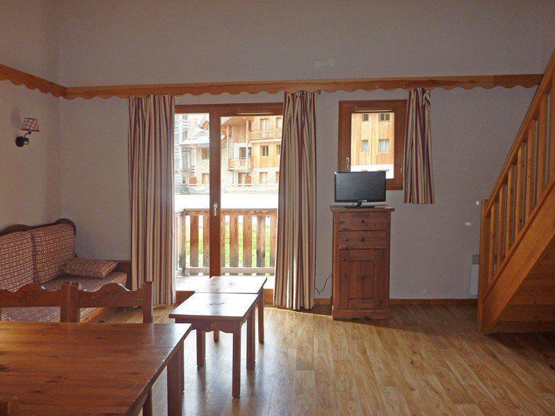 Location au ski Appartement duplex 3 pièces 9 personnes (496) - Résidence les Silènes - Mélèzes d'Or - Les Orres - Tv