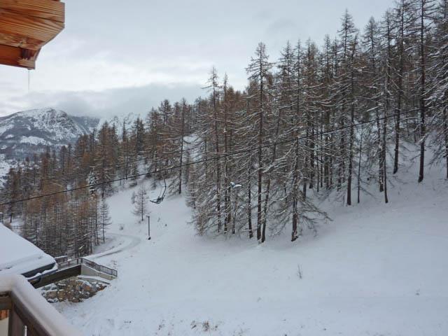 Location au ski Studio cabine 4 personnes (475) - Résidence les Valérianes - Monts du Bois d'Or - Les Orres - Intérieur