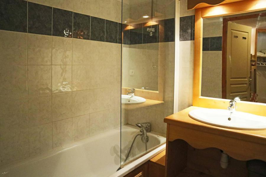Location au ski Appartement 2 pièces 6 personnes (486) - Résidence les Valérianes - Monts du Bois d'Or - Les Orres - Baignoire