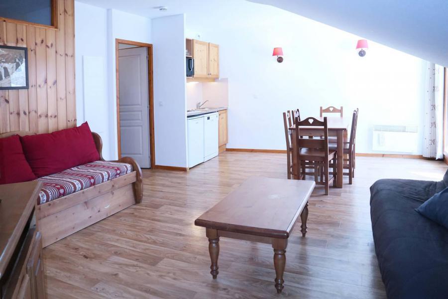 Location au ski Appartement 2 pièces 6 personnes (486) - Résidence les Valérianes - Monts du Bois d'Or - Les Orres - Séjour