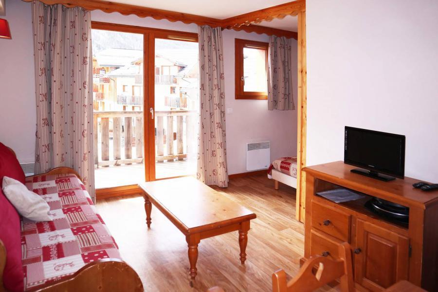 Location au ski Appartement 2 pièces coin montagne 6 personnes (480) - Résidence les Valérianes - Monts du Bois d'Or - Les Orres - Table