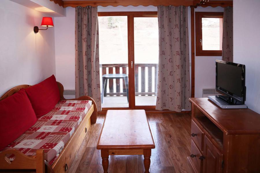 Location au ski Appartement 2 pièces coin montagne 6 personnes (483) - Résidence les Valérianes - Monts du Bois d'Or - Les Orres - Coin repas