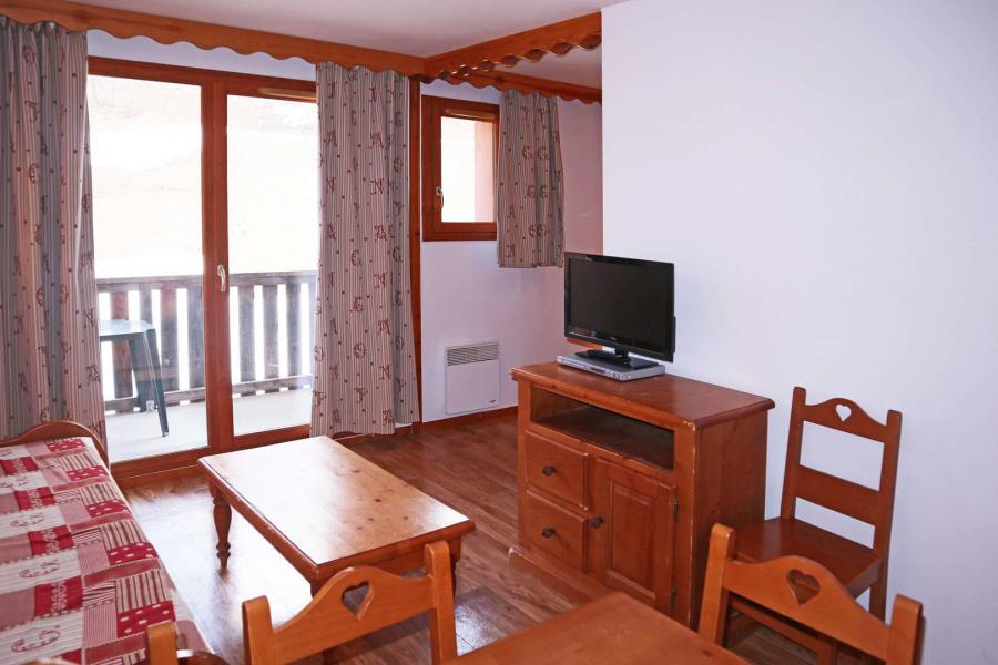 Location au ski Appartement 2 pièces coin montagne 6 personnes (483) - Résidence les Valérianes - Monts du Bois d'Or - Les Orres - Table