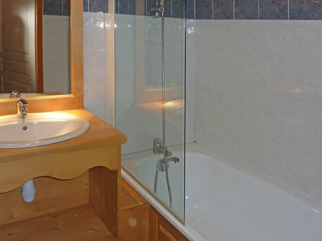 Location au ski Studio cabine 4 personnes (475) - Résidence les Valérianes - Monts du Bois d'Or - Les Orres - Salle de bains