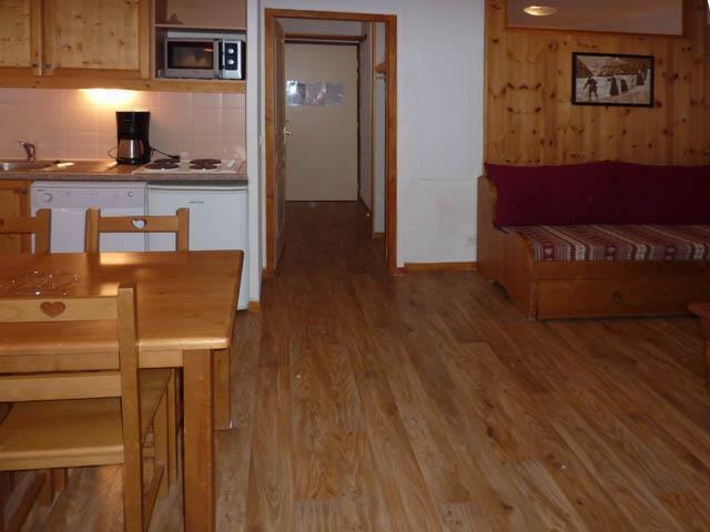 Location au ski Studio cabine 4 personnes (475) - Résidence les Valérianes - Monts du Bois d'Or - Les Orres - Séjour