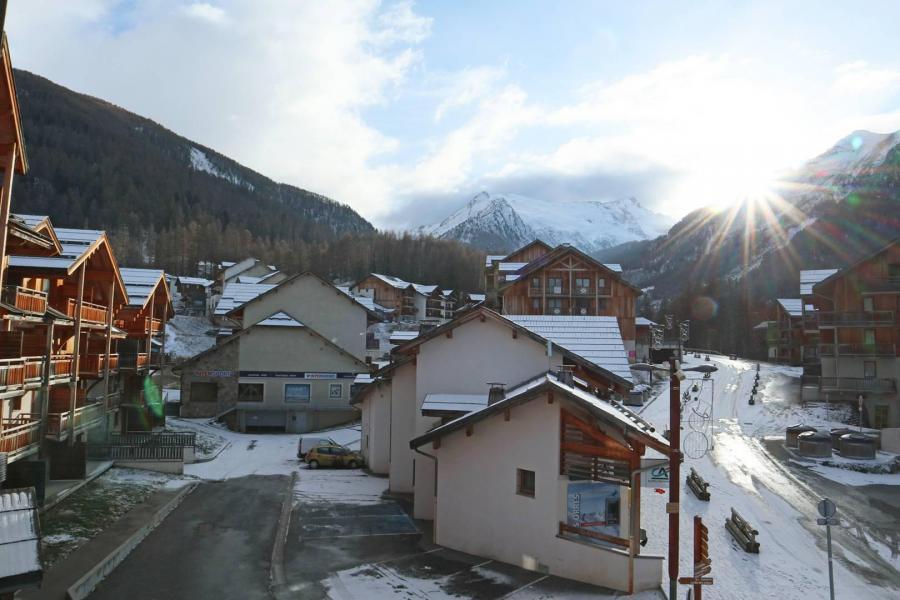 Wakacje w górach Apartament duplex 3 pokojowy 8 osób (820) - Résidence Parc des Airelles - Les Orres - Zima na zewnątrz