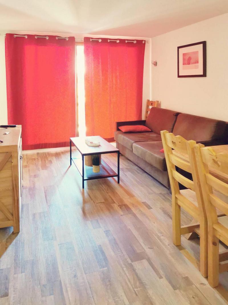 Location au ski Appartement 3 pièces 6 personnes (805) - Résidence Parc des Airelles - Les Orres - Canapé-lit