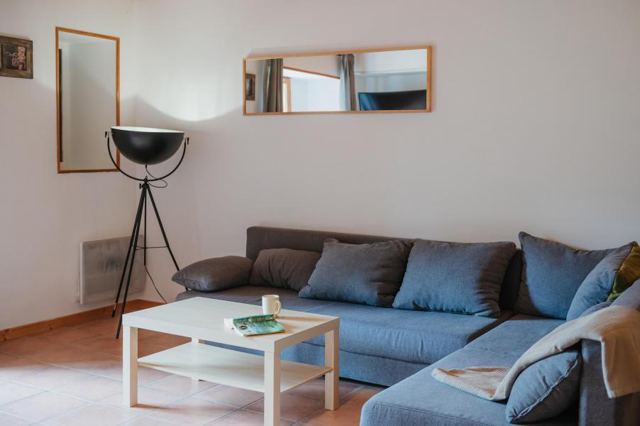 Ski verhuur Appartement 4 kamers 10 personen (Bellavista) - Résidence Sunêlia les Logis d'Orres - Les Orres - Woonkamer