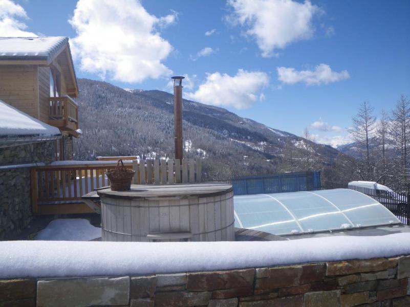 Location au ski Residence Sunelia Les Logis D'orres - Les Orres - Jacuzzi