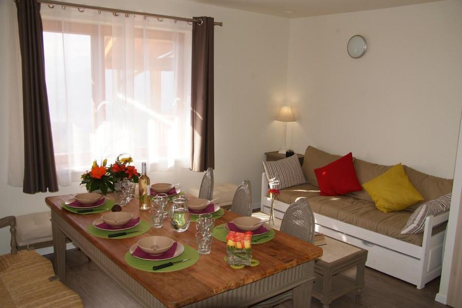 Rent in ski resort Résidence Sunêlia les Logis d'Orres - Les Orres - Living room