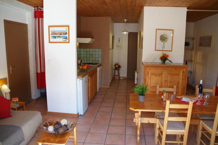 Location au ski Residence Sunelia Les Logis D'orres - Les Orres - Salle à manger
